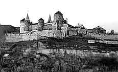 Старий замок. Вигляд з південного сходу. Світлина О.Пламеницької